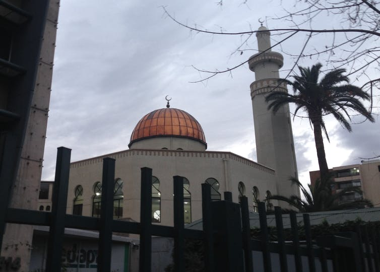 The Mezquita as-Salaam mosque in Santiago, Chile.
