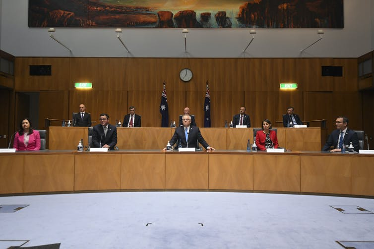 National Cabinet press conference