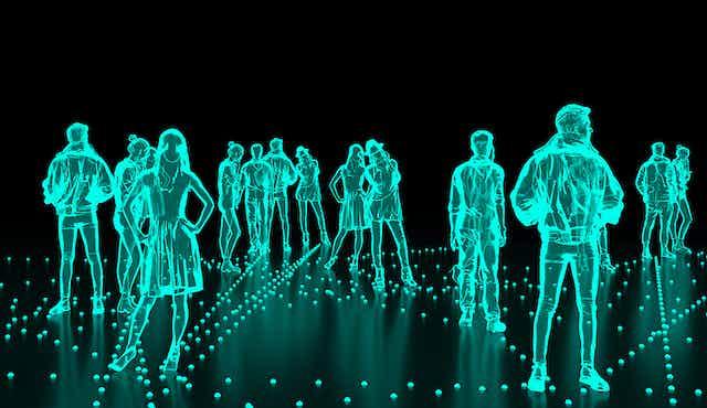 Holograms of people