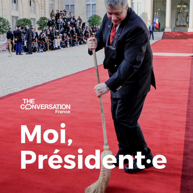 « Moi, président·e », le podcast qui vous donne les clés de l'Élysée.