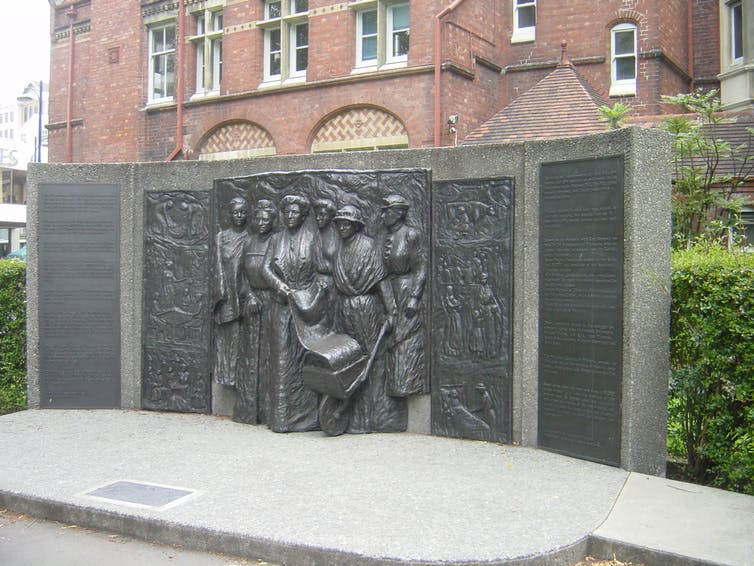 Kate Sheppard memorial