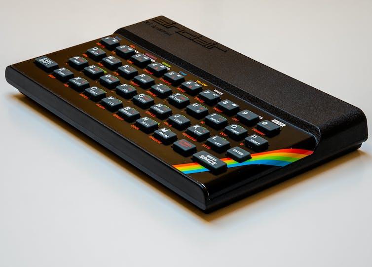 L'ordinateur ZX Spectrum de Sinclair