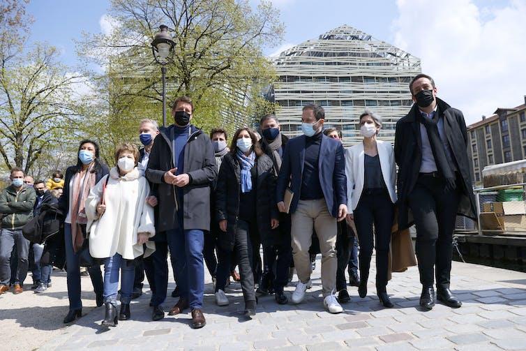 17 kwietnia 2021 r. główni członkowie francuskich partii socjaldemokratycznych i ekologicznych zebrali się po spotkaniu w celu ewentualnego sojuszu na wybory prezydenckie