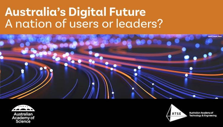 Cover of the Australia's Digital Future report