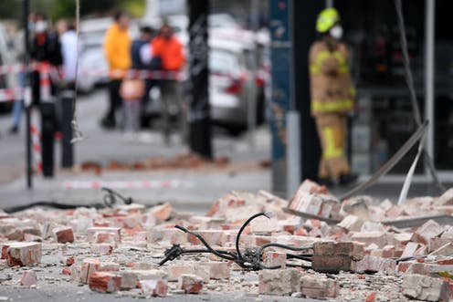 Earthquakes don't kill people; buildings do. And those lovely decorative bits are the first to fall