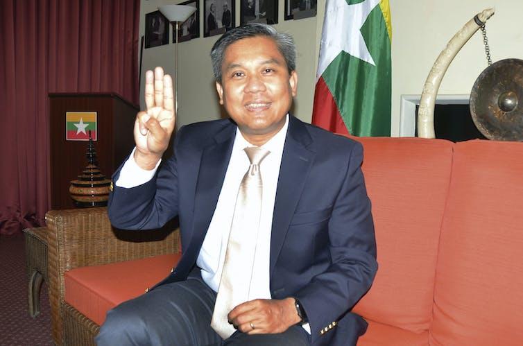 Kyaw Moe Tun, Myanmar's ambassador to the United Nations