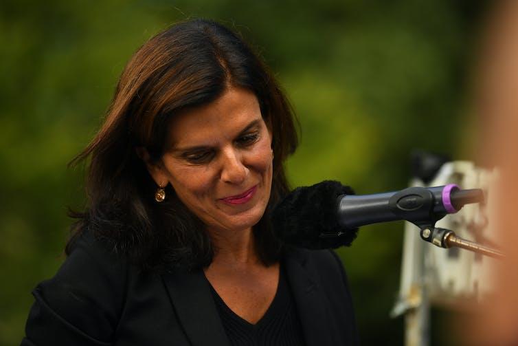 Former Liberal MP Julia Banks