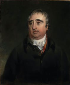 A portrait of James Charles Fox