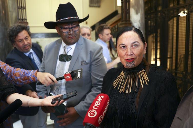 Maori Party co-leaders Rawiri Waititi and Debbie Ngarewa-Packer