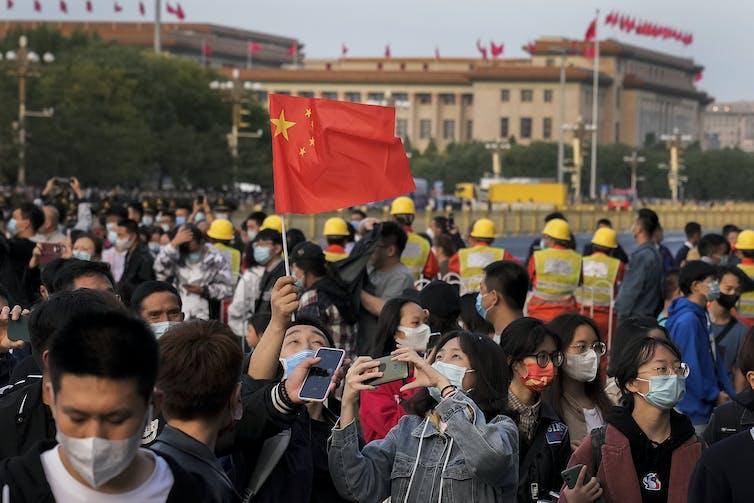 National Day celebration in Beijing.