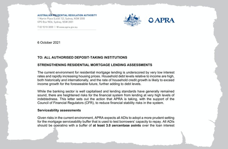 Thanks to APRA, it's about to become harder to get a mortgage. Here's why