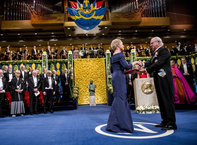 None of the 2021 science Nobel laureates are women – here's why men still dominate STEM award winning