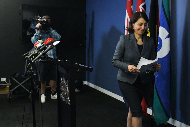 Former NSW premier Gladys Berejiklian