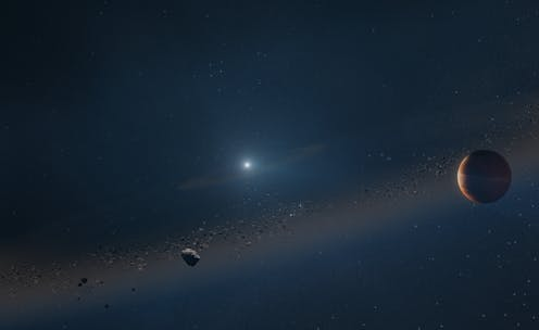 A distant dead star shows a glimpse of our Solar System's future