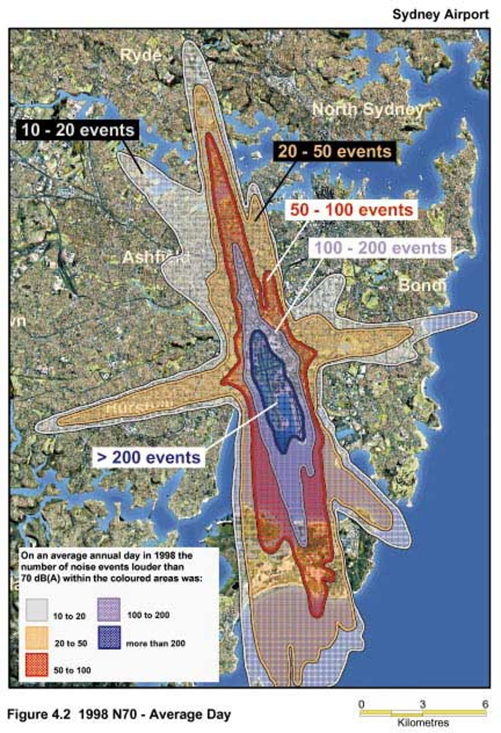Badgerys Creek Airport Noise Map Sydney Suburbs Affected By Aircraft Noise   The Best and Latest
