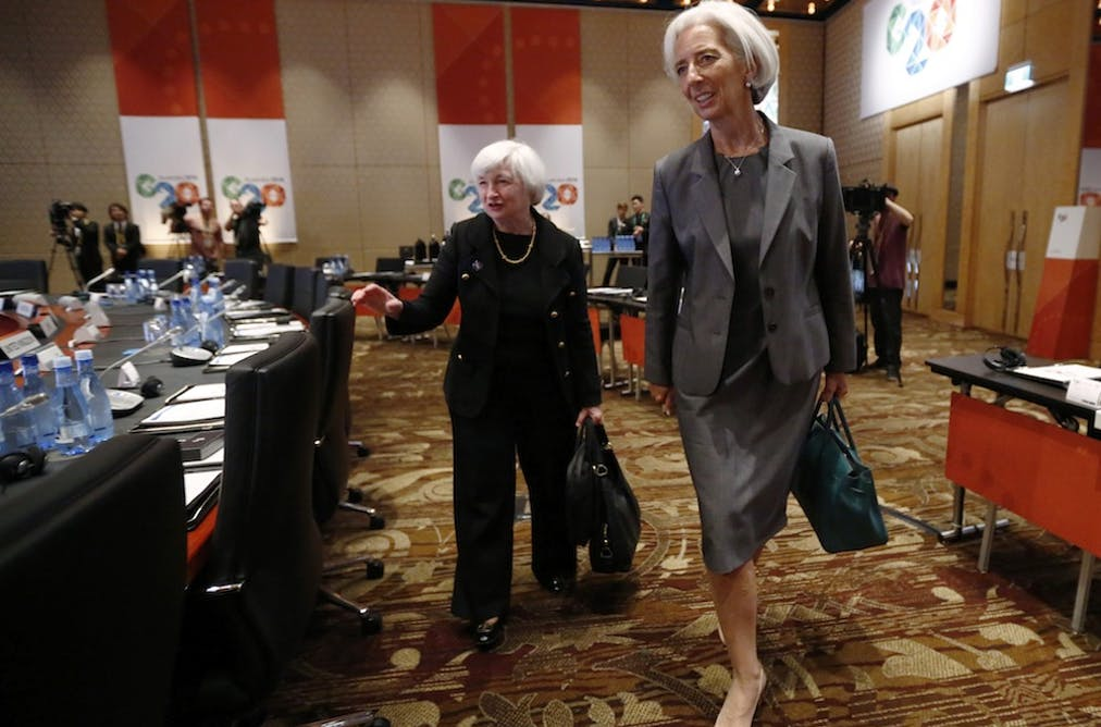 Why Christine Lagarde says women are the answer to the world's