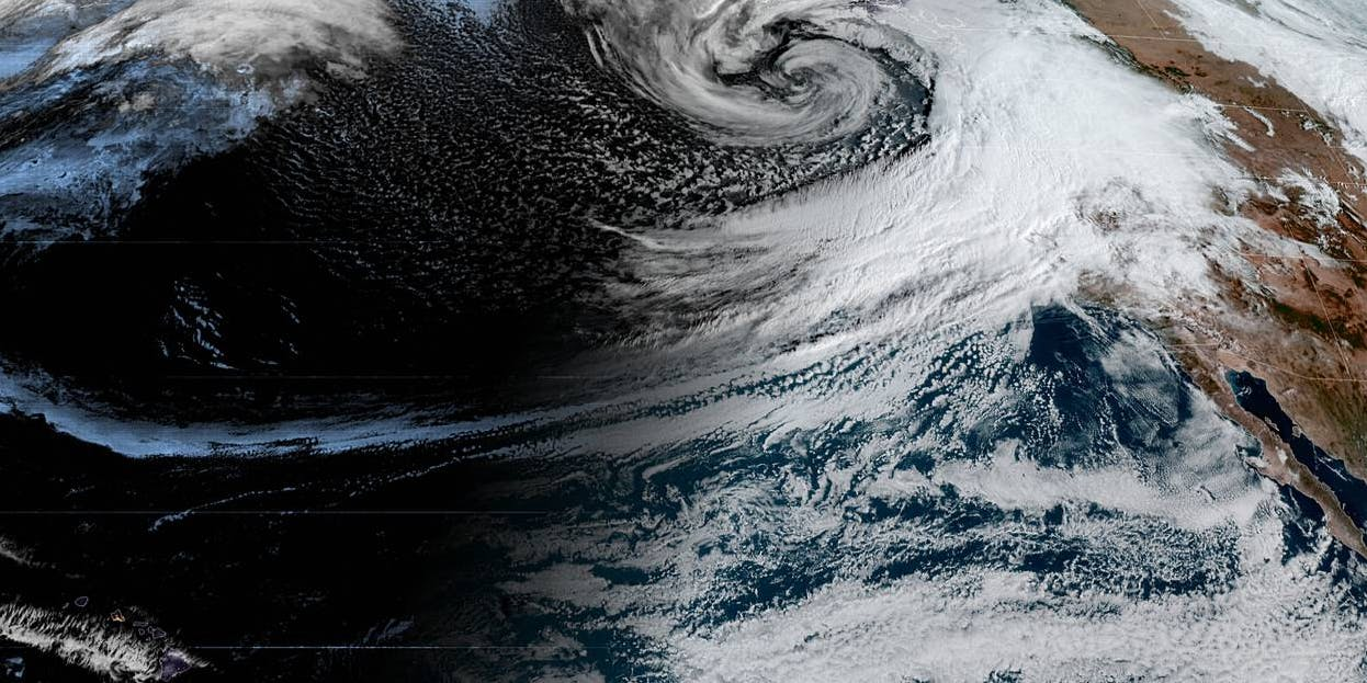 Atmospheric river storms can drive costly flooding – and climate change is making them stronger