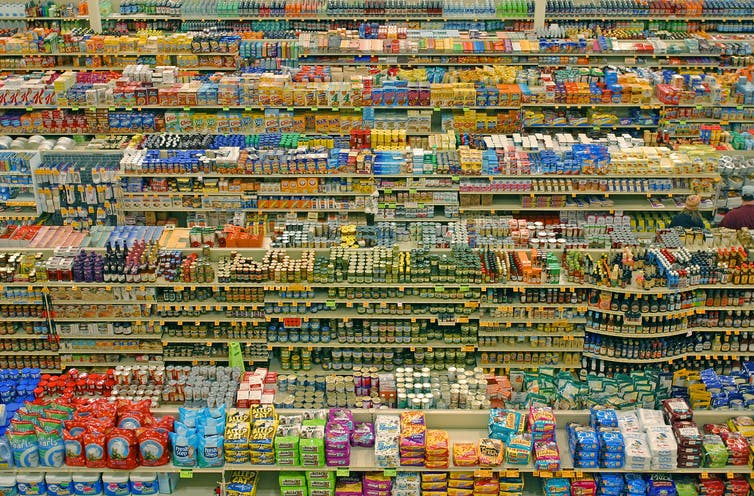 The science that makes us spend more in supermarkets, and feel good