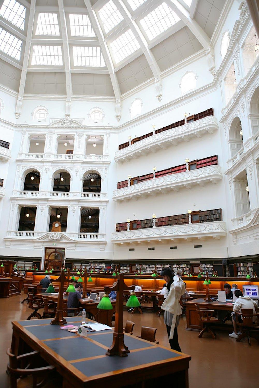 State Library Of Victoria Melbourne Cam Incoll