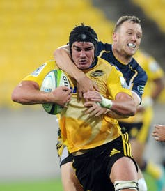 not so gentle giants how rugby players are getting bigger