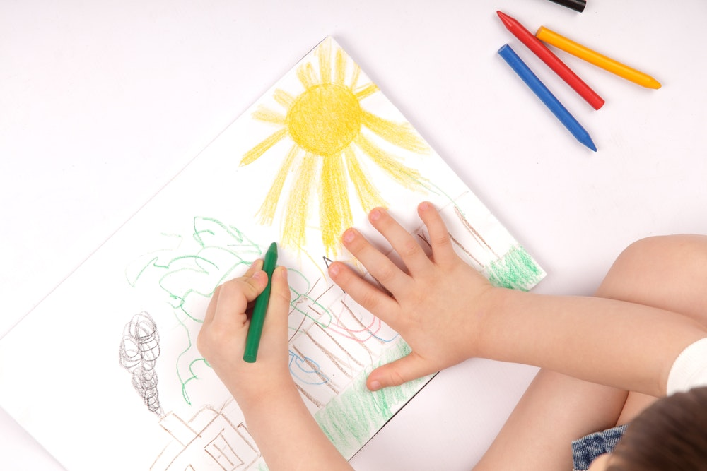 Want to improve your kids writing Let them draw