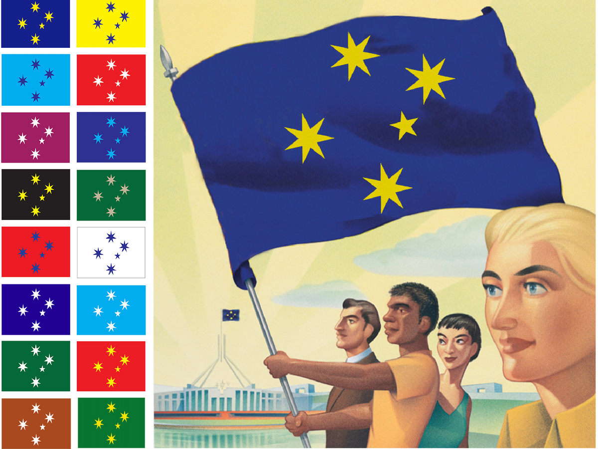 The Crux Of The Issue With A New Australian Flag