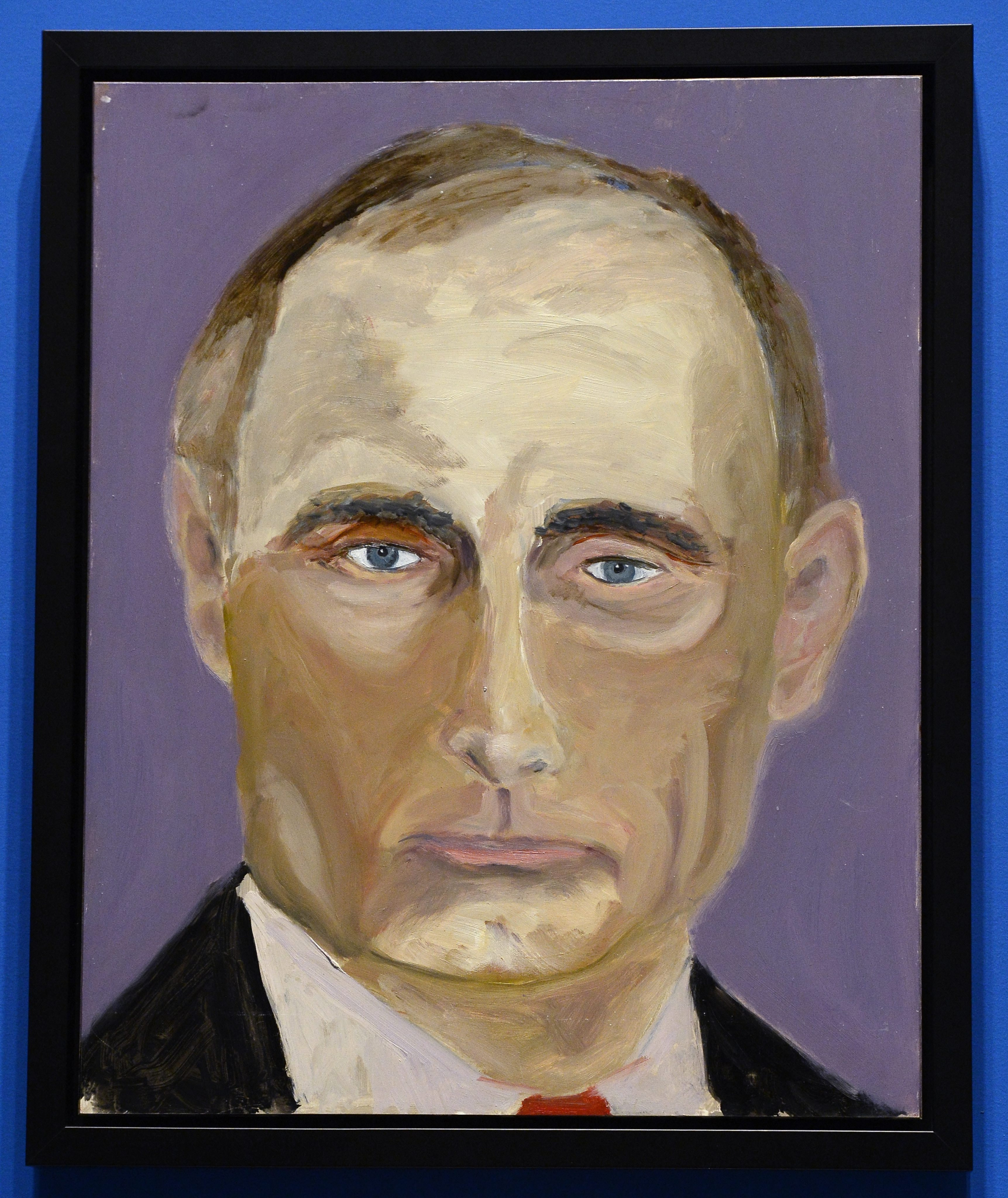 The Artist Formerly Known As President George W Bush