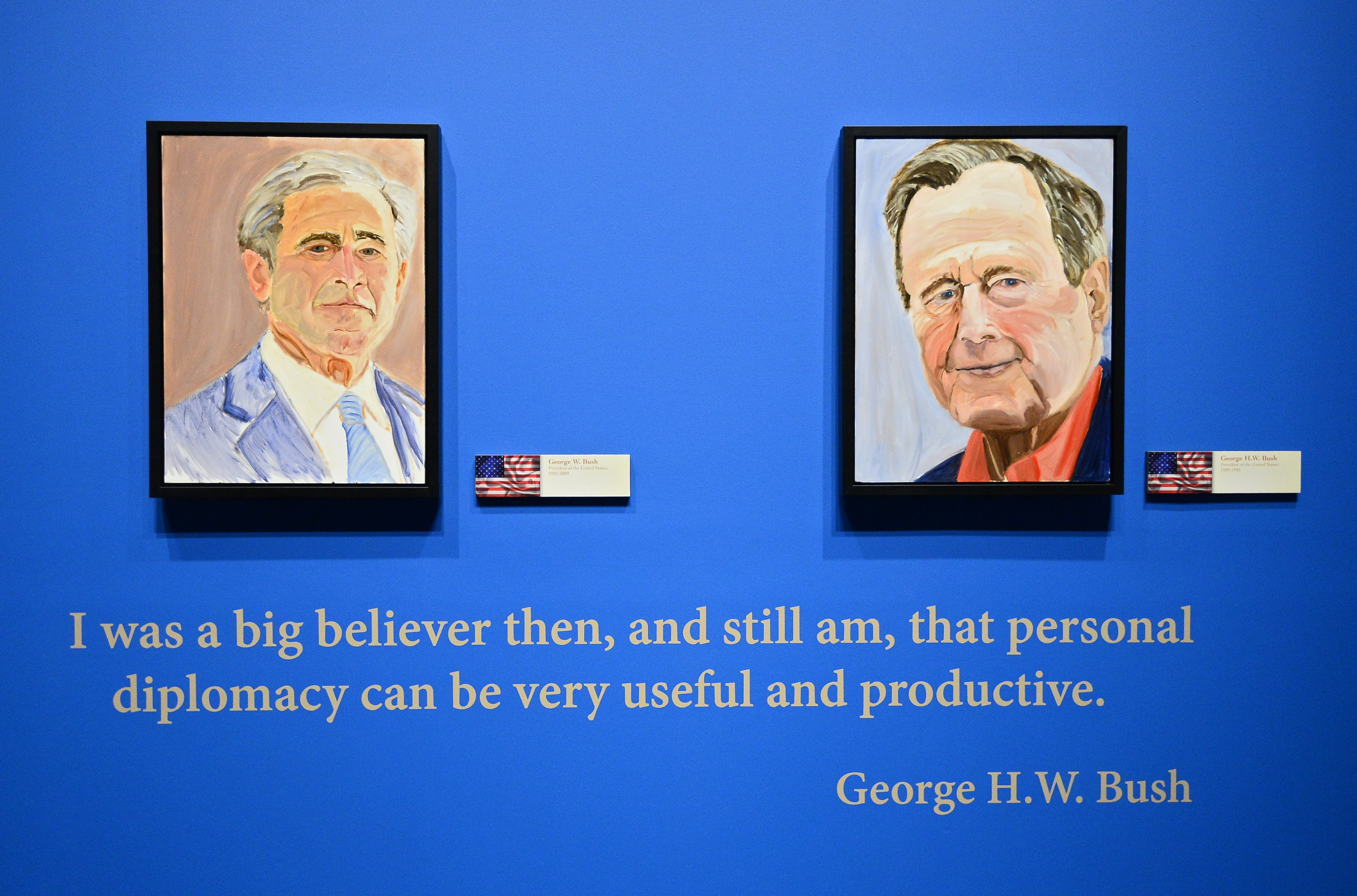 Republican Elephant In The Room George W Bush Is No Artist