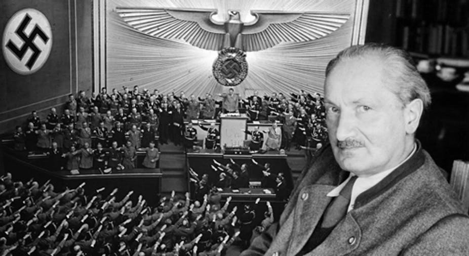 Image result for heidegger nazi