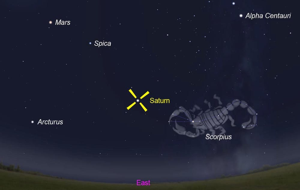Bright Saturn will blink out across Australia – for an hour