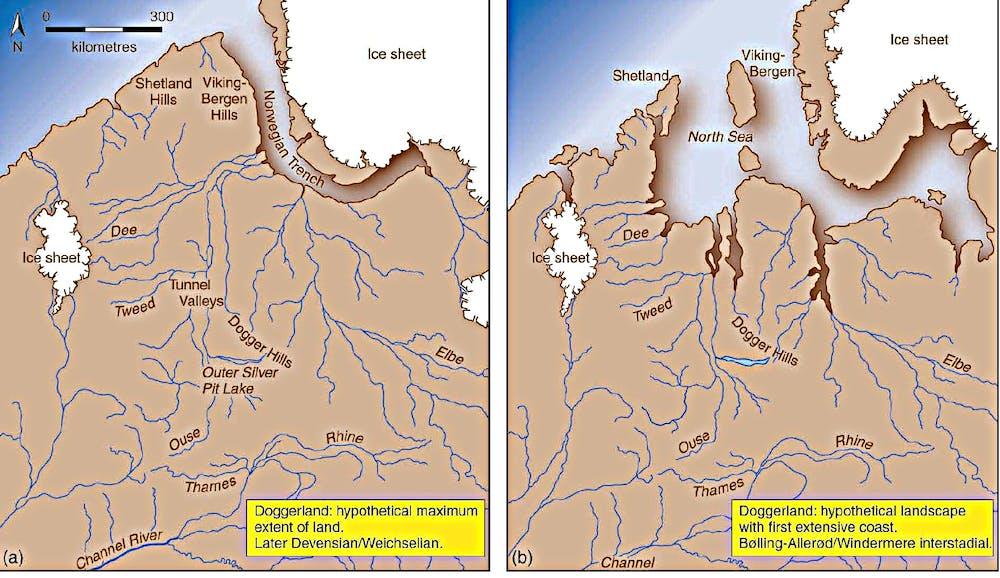 Doggerlands Lost World Shows Melting Glaciers Have Drowned Lands