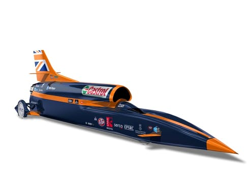 Scientists at work: designing the fastest car on the planet