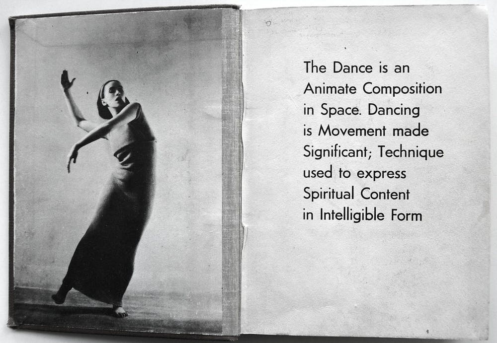 Explainer What Is Contemporary Dance Endpapers Of Martha Graham By Merle Armitage Los Angeles M Armitage   Crossett Library Short English Essays For Students also Essays Topics In English  Modest Proposal Essay Ideas