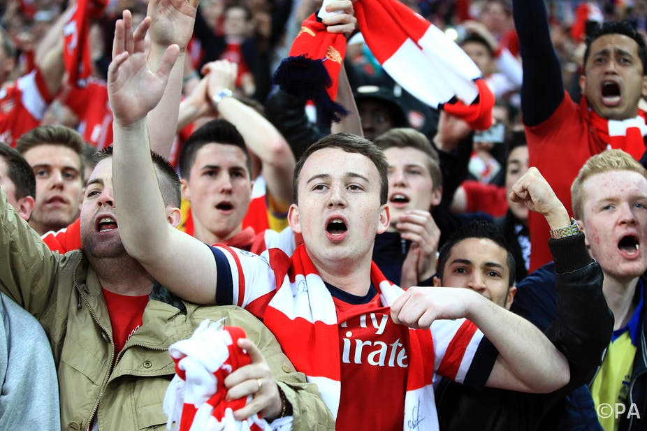 A hymn confirms that the FA Cup final is a matter of life