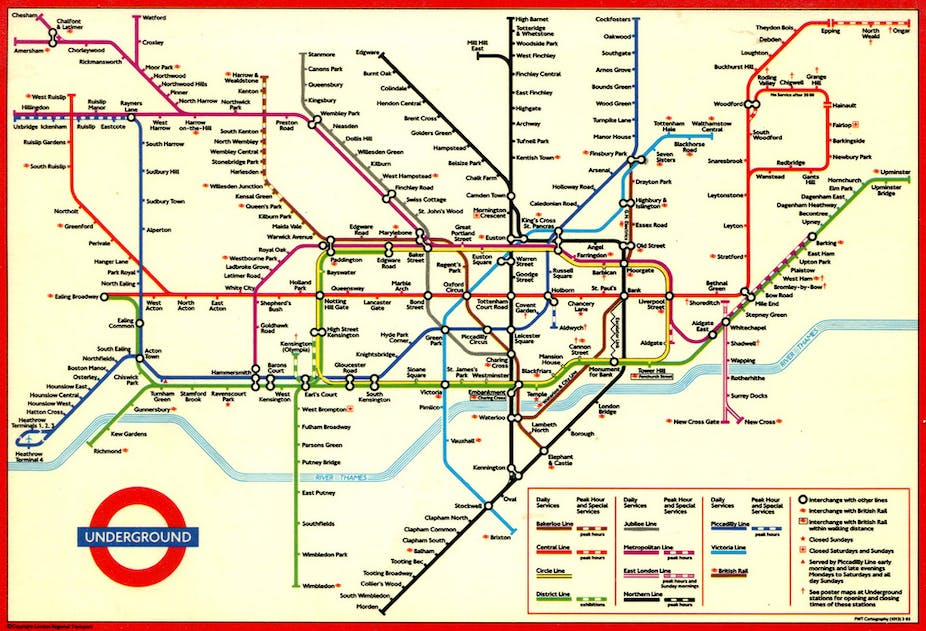 Sublime design the London Underground map – London Tube Map Map