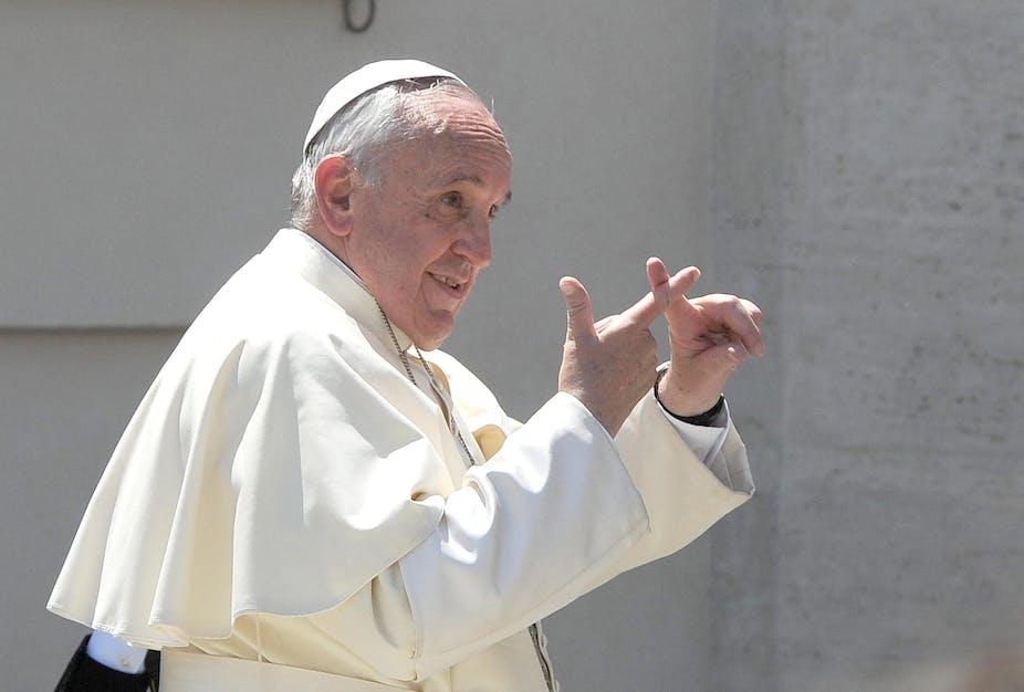 Αποτέλεσμα εικόνας για pope Francis satanic cross