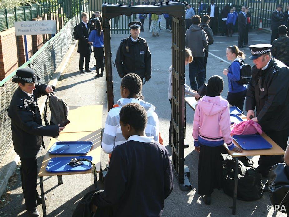 Benefits of Metal Detectors in Schools