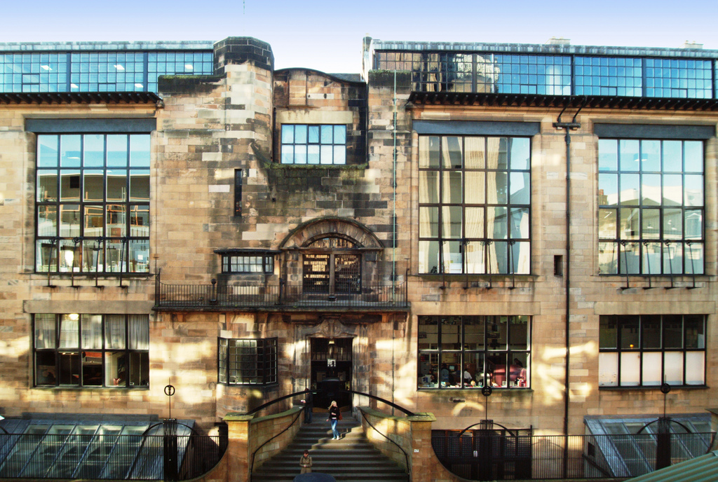 the alice in wonderland effect of glasgow school of art