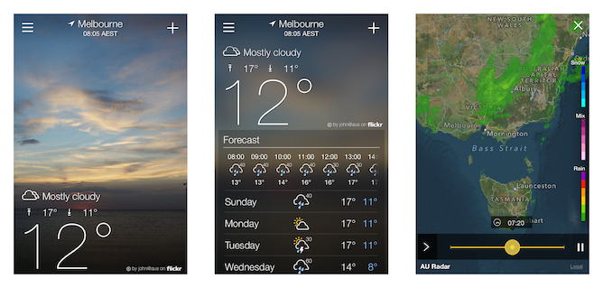 How Does The Bureaus New Mobile Weather Site Stack Up - Yahoo us weather map