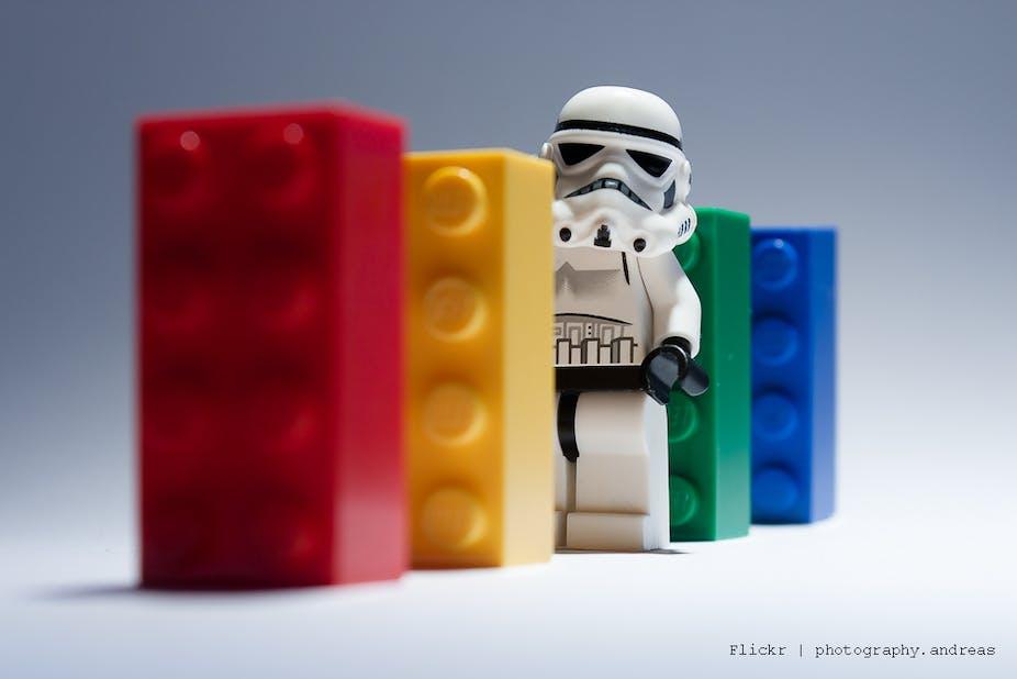 Sublime design: Lego