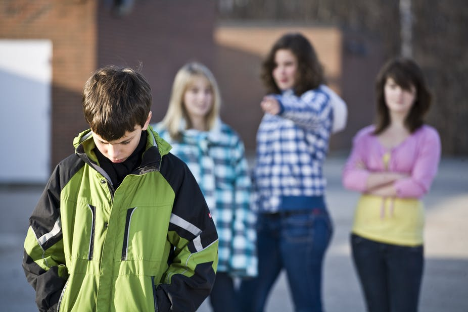 The difference between 'bullying' and 'everyday life'