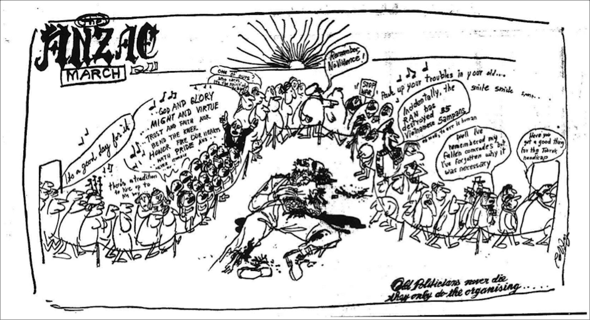 The Australian Helped Political Cartoonists Sharpen Their Edge