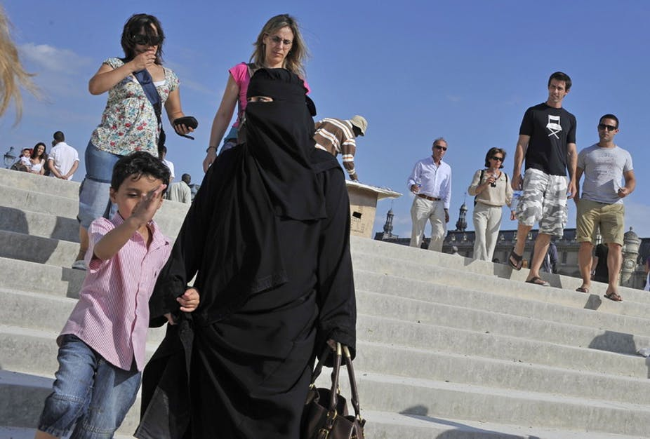 Life under the French veil ban is nothing like 'living together'