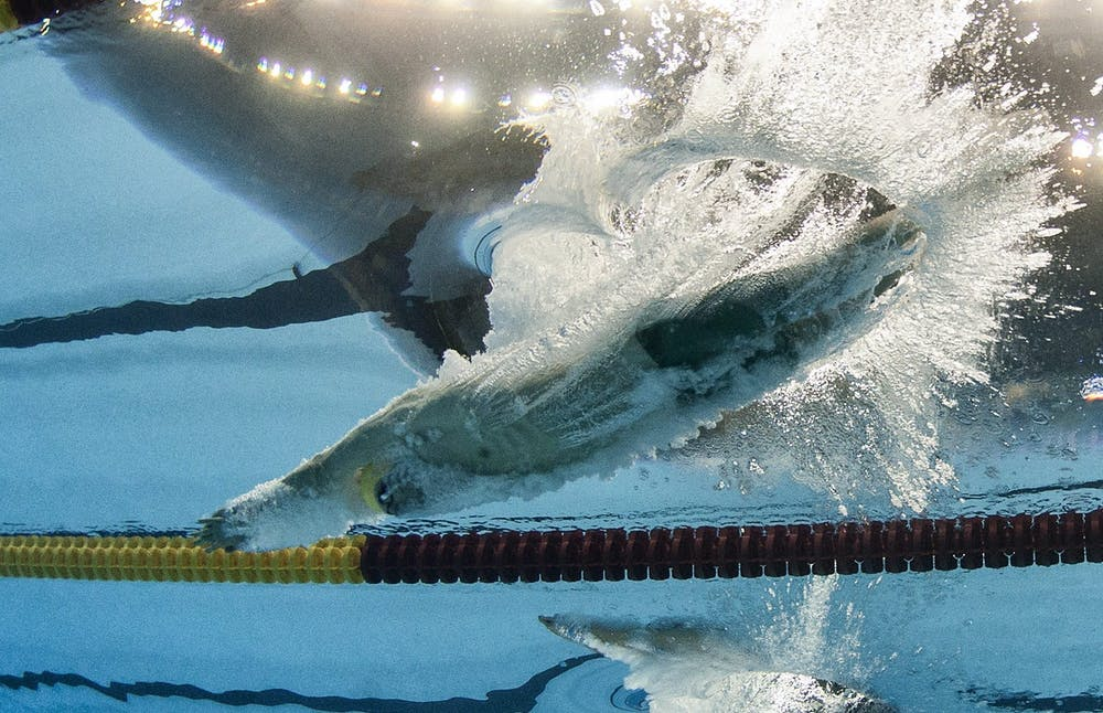 Take your marks     the science behind the perfect swimming dive