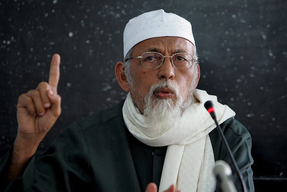 Indonesian cleric's support for ISIS increases the security