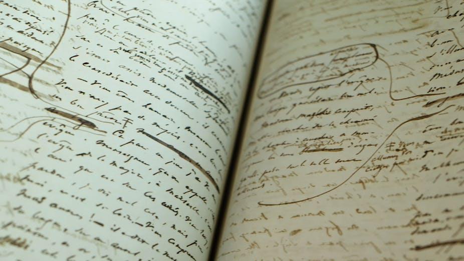 Don't be Misérables – it's Hugo's original manuscript