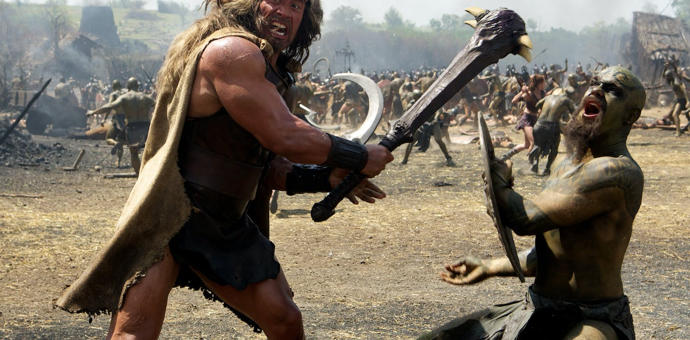 New Hercules film is bringing back the muscle