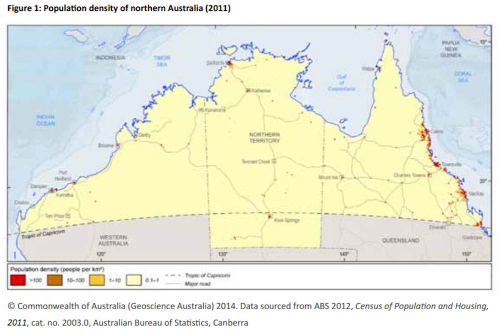 Map Of North West Australia.Lessons From The Kimberley On Developing Northern Australia