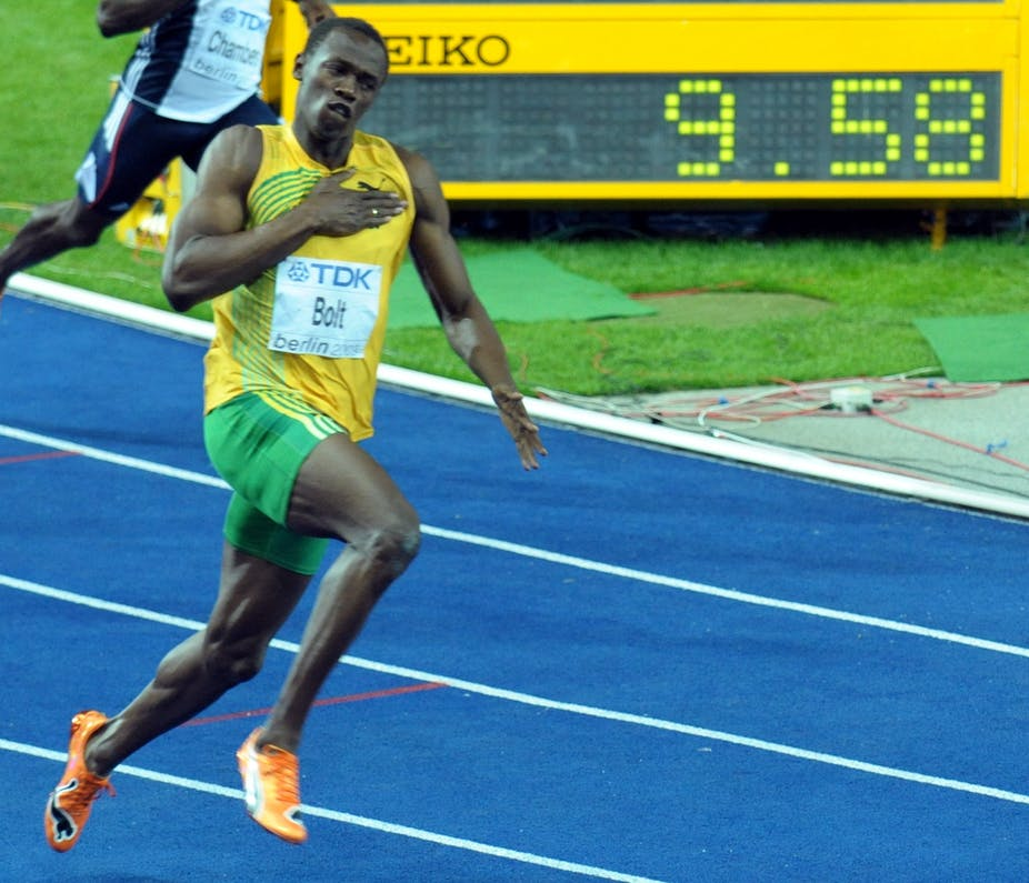 Can a human ever run 100m under nine seconds?