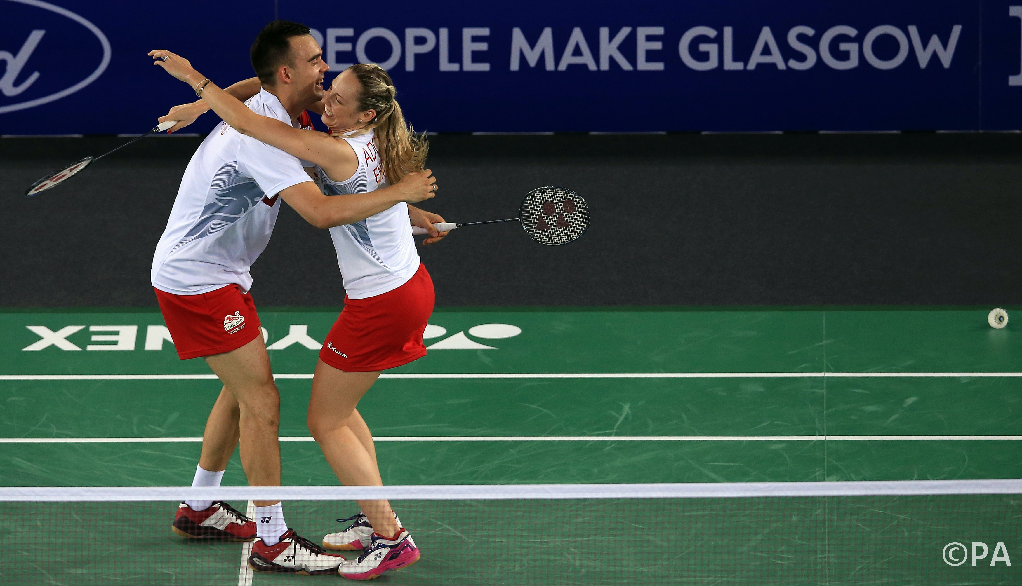 When Being Good At Badminton Is The Secret To A Happy Marriage